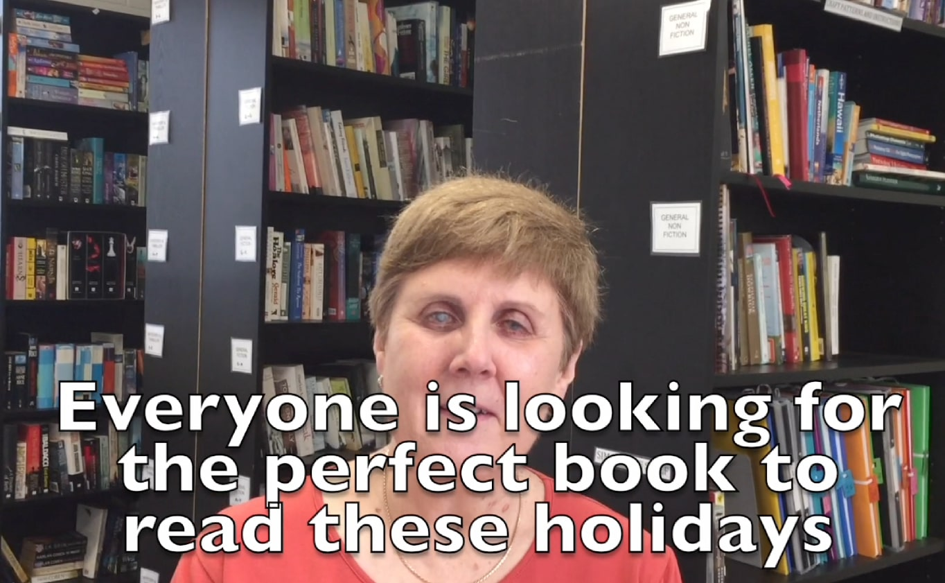 Everybody is looking for a good book these holidays