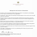 Government House Queensland Message from the Governor of Queensland