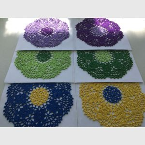 Sets of doilies