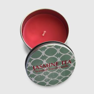 Jasmine Tea scented candle in tin