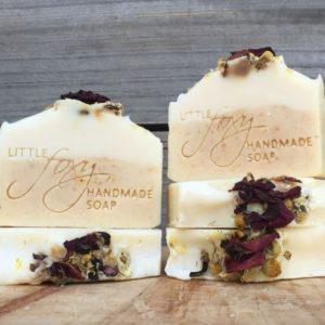 Sweet Orange, Almond & Geranium Essential Oil Goat's Milk Handmade Soap