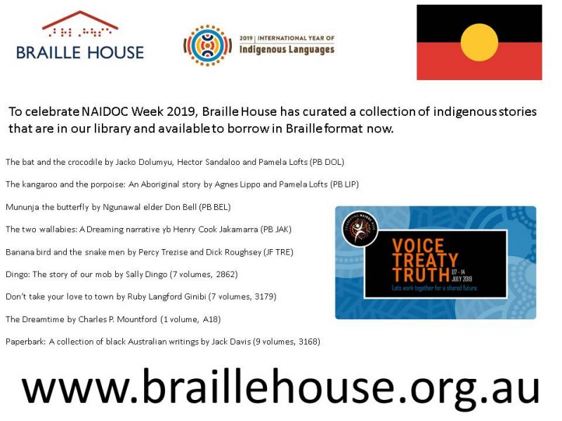 NAIDOC curated collection