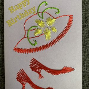 Hat & Shoes Birthday Card