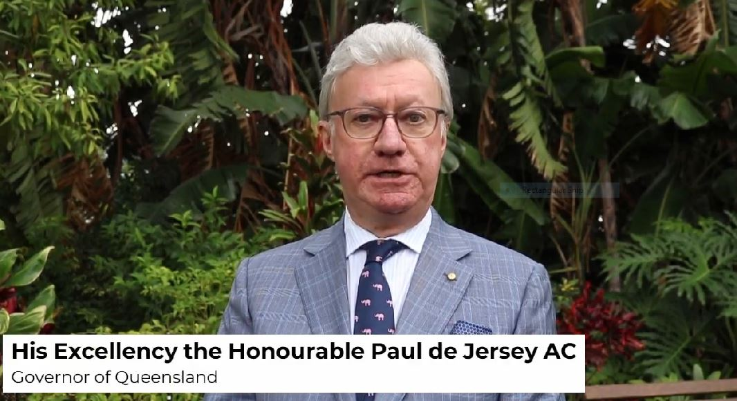 Governor of Queensland Paul de Jersey